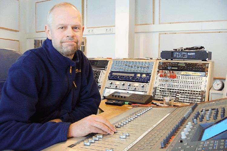 Erhard Kanicki im Traveller Studio
